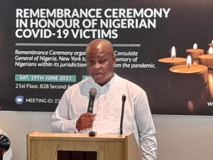Nigeria's Consulate in New York embarks on COVID-19 vaccination drive